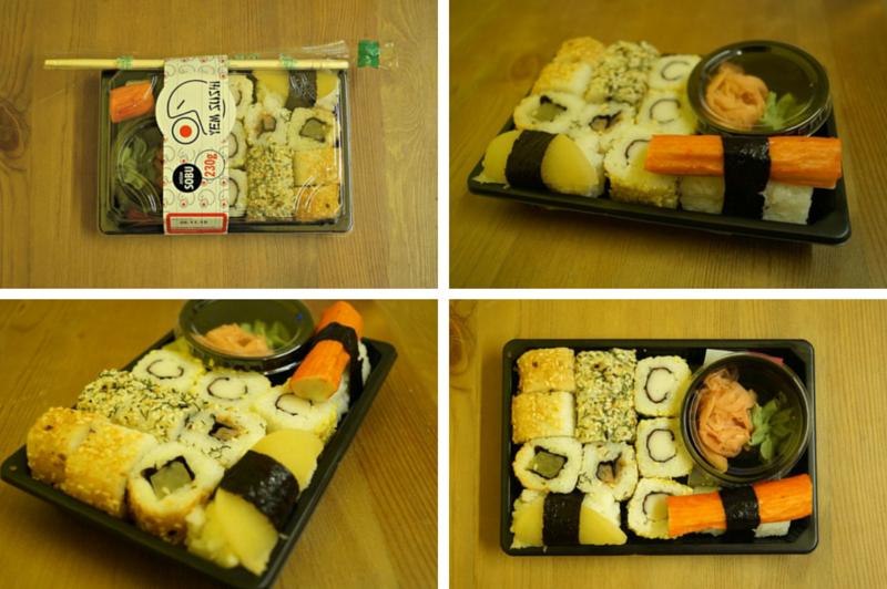 Sushi,Piotr i Paweł