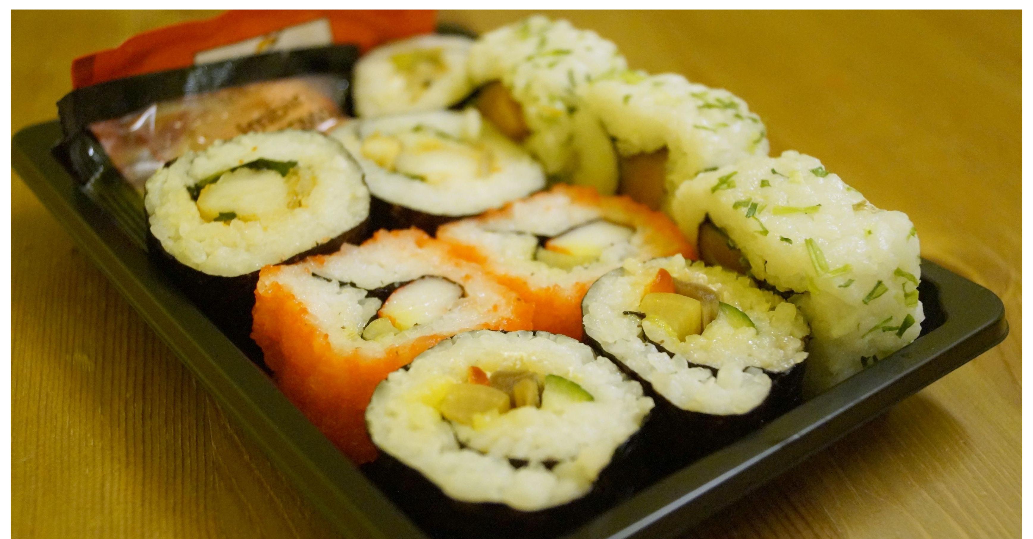 A może sushi z marketu? Test tanich sushi,boxów \u2022 Blog ironiczno,kulinarny