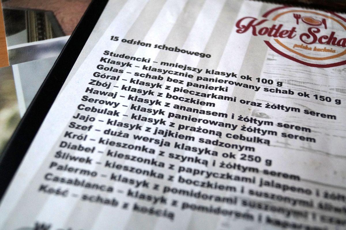 menu_kotlet schabowy